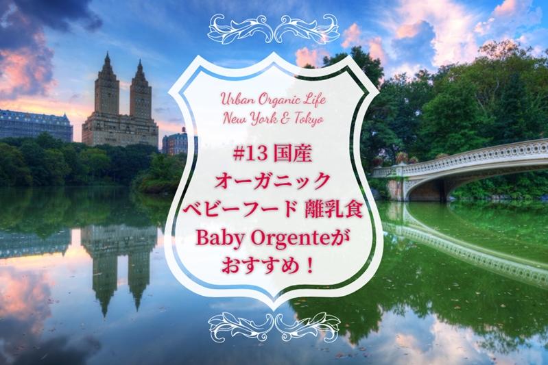 国産オーガニックベビーフード離乳食Baby Orgenteがおすすめ!