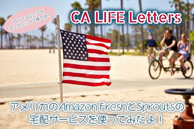 アメリカのAmazon Freshでオーガニック食品を買ってみたよ!
