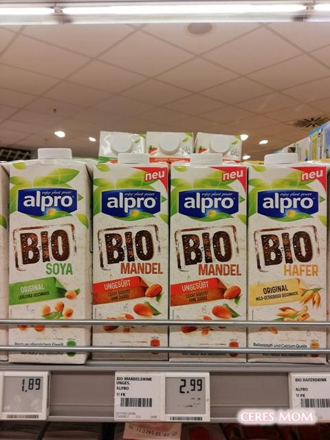 ドイツ牛乳アレルギー飲み物
