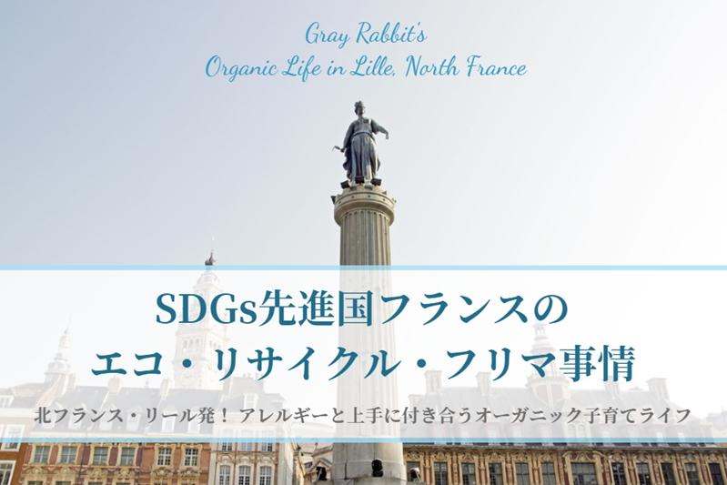 SDGs先進国フランスのエコ・リサイクル・フリマ事情[フランス、リール]